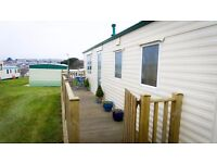 Modern Caravan on Trenance Holiday Park Newquay Cornwall