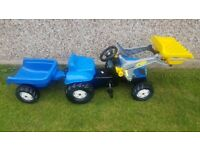 Rolly Toys Tractor and Trailer Age 2+