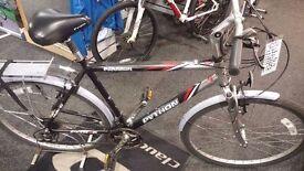 "Python Mens Hybrid Bike Large Frame 22"" Fully Serviced By Bike Shop"