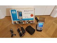 HP IPAQ HW6915 Mobile Phone Messenger In Original Box plus extras (Retro)
