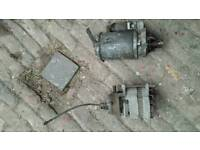 Transit Smiley Starter motor and Alternator