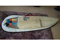 Adams P13 6ft 2 surfboard