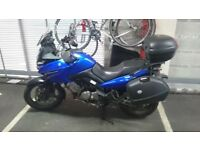 Suzuki V-strom 650 + touring kit