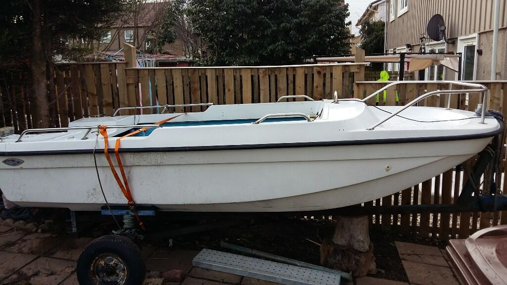 Trifoil speedboat fishing boat 14 ft lengh in dalkeith for 14 ft fishing boat