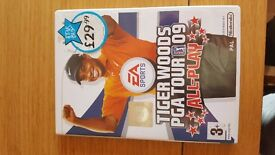 Tiger Woods pga tour 09 game for wii