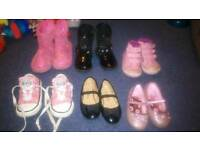 Girls shoes & boots size 5 (converse sold)