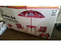 Minnie mouse garden set for 3to5year olds
