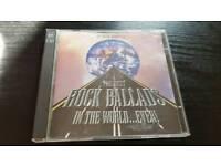 THE BEST ROCK BALLADS .2 CDS