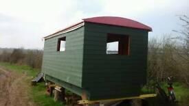 Gypsy wagon/ shepards hut project