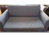 Two double sofa beds - ikea