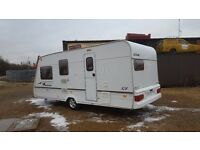 LUNAR FREELANDER 524-4 BERTH WITH AWNING & MOTOR MOVER 2003
