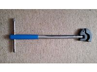 ADJUSTABLE BASIN WRENCH. No offers please.