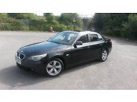 BMW 530d E60 Black 4dr saloon