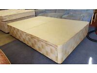 Double Divan Bed Base With 2 Drawers