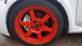 """Mint 16"""" Rota Grid wheels with tyres"""