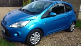 2011 11 ford ka 1.2 edge £30 per year road tax petrol manual great first car service history