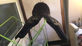 Extra wide 17inch saddle for sale