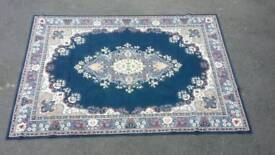 Large mat/rug blue £65