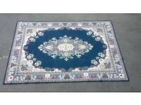 Large mat/rug blue £65