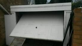 Prefabricated concrete garage