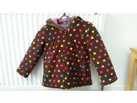Girl's Winter Coat Aged 3-4 years