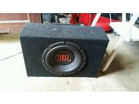 JBL BASEBOX WITH AMP ONLY £20