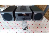 Yamaha CRX-040 stereo system in excellent condition
