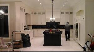 Custom made kitchen cabinets ,vanities ,closets andallwoodworks