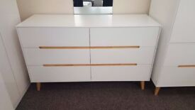 Ex-Display Julian Bowen Alicia 6 Drawer Chest **CAN DELIVER**
