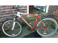 Specialised hardrock front suspension bike