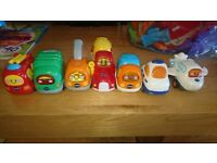 Toot toot super drivers city and garage plus 7 cars