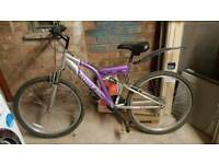 Women's bike. Barely used. Front and rear suspension