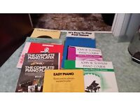 Piano music all excellent condition