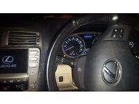 Lexus is220d se-l 2.2 diesel black