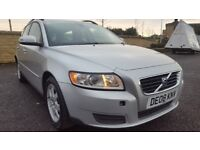VOLVO V50 2.0 Diesel ,Estate, 6Speed,69k LOW MILAGE, FULL YEAR MOT
