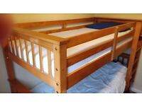 Wooden bunk beds from Very