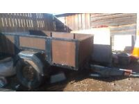 Trailer ,for sale , ring tow eye. 2m long 1.2m wide.