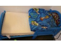 Toy story bed with mattress