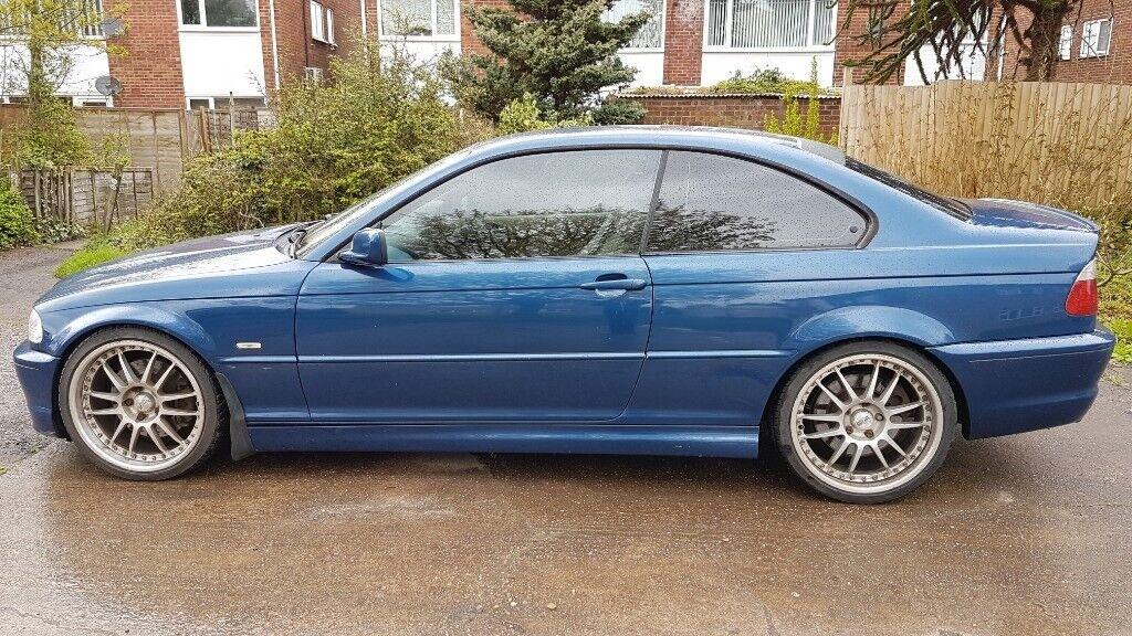 Verrassend BMW E46 330i 2001 Coupe Manual 161K miles Topaz Blue. 19inch OJ-33