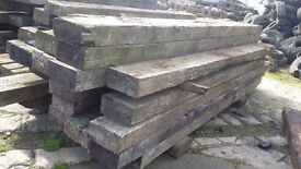Sleepers /cross timber