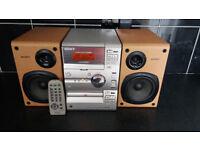 Sony mini hi-fi. Cd / tape / tuner / aux