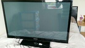 "Samsung 43"" 600HZ Full HD 1080p Slim Line Plasma TV good condition USB port"