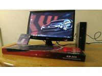 Fast HP Ultra Small Home & Business PC Desktop Computer & LG 20 LCD Widescreen