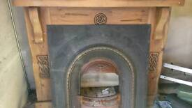 Fire surround and front