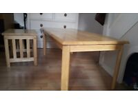 Coffee table & small table