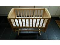 Mothercare Glider Crib Deluxe
