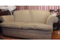 Feather filled quality sofa .free delivery