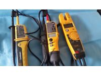 fluke combi electrical tester and plumbing tools for sale blow torch