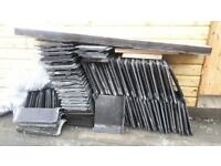 98 Grey Marley Modern Roof Tiles 16x12 Reclaimed