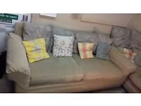 4 Seater Sofa with cushions, really nice, must sell, moving